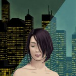 Final City Girl Illustration
