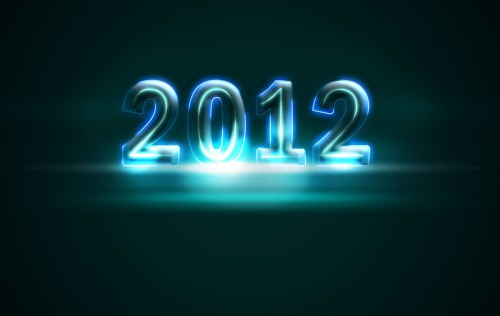 2012 Glowing Numbers