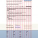 Page Mock-up and Grid